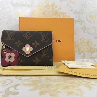 Floral Chain Louis Vuitton Wallet