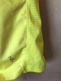 Yellow dry fit shirt