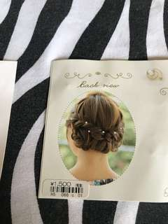 Hair points from Japan ¥1500
