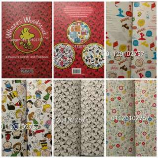 Snoopy White Book