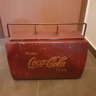 Vintage Coca-Cola Cooler Box