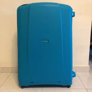 Samsonite S'Cure Spinner Four-Wheel Luggage (81cm)