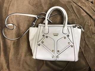 Guess White Crossbody Bag