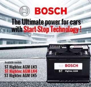 Bosch AGM Battery **BEST PRICE**