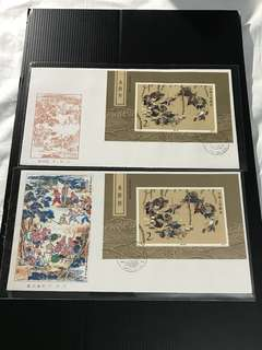 China Stamp - T123M 水浒传(一)小型张 首日封 FDC 中国邮票 1987 T123