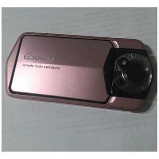 售一台95新Casio Exilim EX-TR150 自拍神器翻轉相機(玫瑰金)