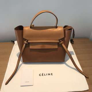 🈹 8成新 Celine Small Belt Bag