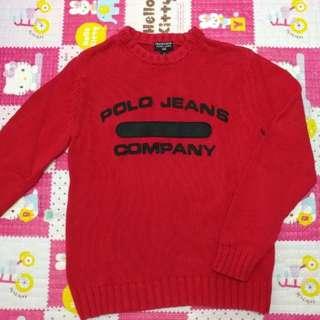 Ralph Lauren Polo🌈 Jeans sweater M 毛衣 冷衫 中碼