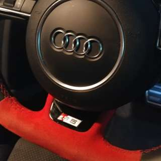 Audi S5 FL Flat-Bottom Steering Wheel + Airbag [UPDATE]