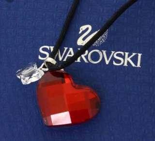⚡️Fast deal‼️ Swarovski Butterfly Heart Motif Red Crystal choker