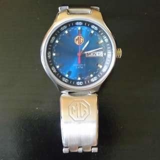 MG汽車牌子薄身錶