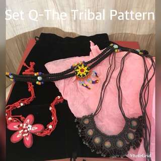 Matching Women Accessories Set Q to T
