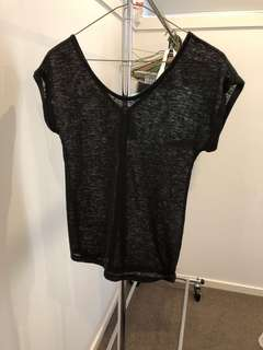 Stradivarius black Knit Tshirt