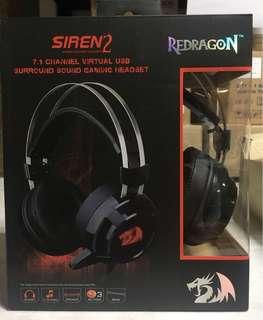 Redragon 7.1 Siren 2 Gaming Headset