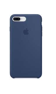 iPhone 8 plus / 7 plus 矽膠保護殼 - 鈷藍色