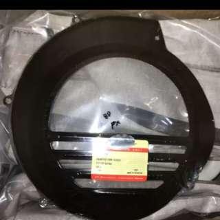 Vespa ox fan cover black