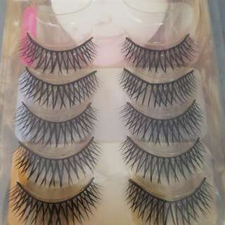False Lashes - 5 pairs remaining for only $5