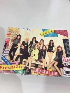 少女時代 snsd 日本專輯cd girl&peace Paparazzi