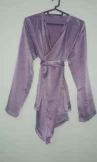Instock Kimono Wrap Lilac