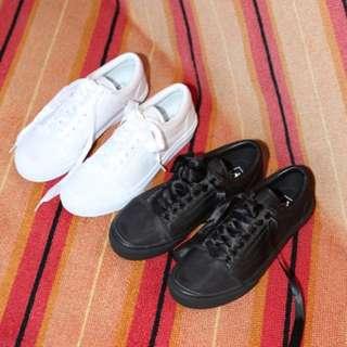 vans old skool dx satin  緞帶絲帶鞋帶黑