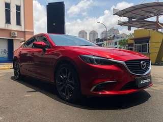 Mazda 6 Facelift 2016