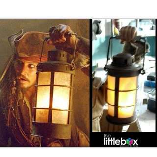 1:6 Scale Metal Lamp for Jack Sparrow not Hot Toys Enterbay