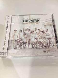少女時代 snsd 日本專輯cd 日本版