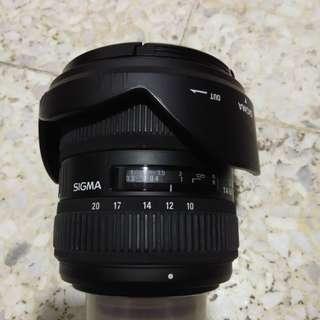 Sigma Wide Angle 10-20mm Nikon