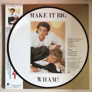 Wham! | Make It Big | Japan Picture Disc LP