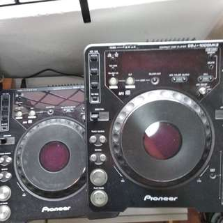 Pioneer Cdj1000 mk3  - recently serviced with Serato Scratch Live