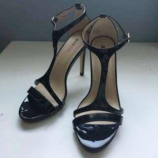 JustFab Cynthia Strappy Heels (Size 6)