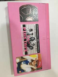 F(x) 韓版專輯 nuabo hot summer pink tape electric shock