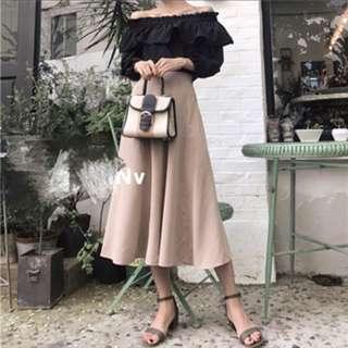 (近全新)長傘裙