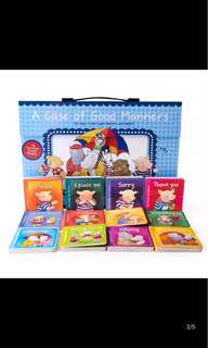 A case of good manners book set