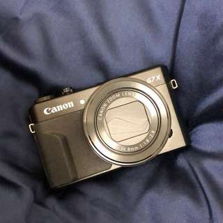 Canon G7x mark2