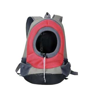 Pet Backpack Transportation for Dog and Cat (Red)
