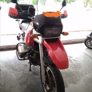 1997 Bmw r1100gs red