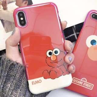 (全新) iPhone Case 7plus / 8plus 電話殻 鐳射殼 Elmo