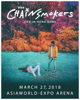 一張Block A The Chainsmokers Live in Hong Kong