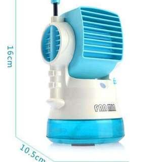 Mini Fashion Fan with Water Spray for Humidifying