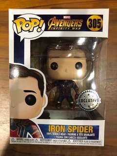 Marvel Avengers Infinity War Iron Spider Funko Pop