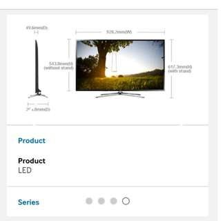 Samsung smart FHD TV led 40 inch