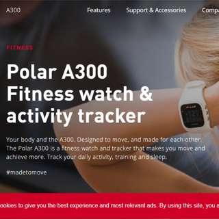 Polar A300 Fitness Tracker Watch