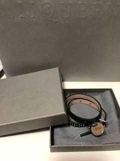 Alexander McQueen double wrap bracelet  全新 有原裝packing  原價$1900