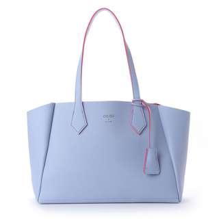 Japan Samantha Thavasa Colors By Jennifer Sky Charm Tote Bag (Lavender)