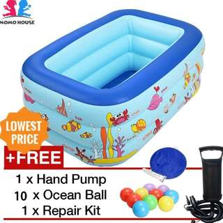 Inflatable Swimming Pool with free gift