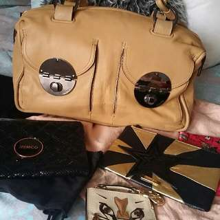 Mimco Clearout BNWOT & EUC Bag & Pouches