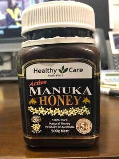 購自澳洲 高級麥蘆卡蜂蜜 ( MANUKA ) 95%new