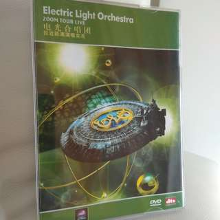 DVD CONCERT - Electric Light Orchestra Zoom Tour LIVE