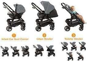 Graco Modes stroller and car seat